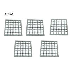 Square grilles