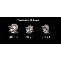 Heads With Helmet XVI Century