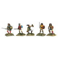 Amazons with sword and shield