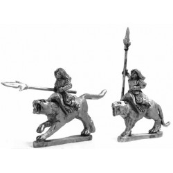 Amazon cat riders with spear
