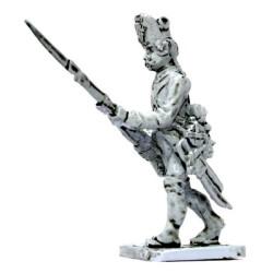 Infantryman, attack march, 1796-98