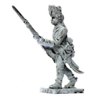 Hungarian infantryman, attach march, 1796-1798