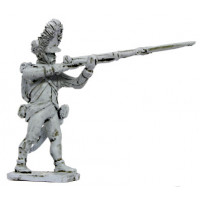 Hungarian Grenadier firing, 1798-1815