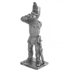 Officer of Artillery with field-glass