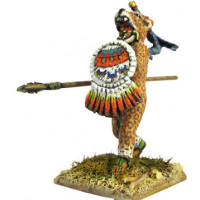 Aztecan warrior of 'Puma' or 'Jaguar' rank