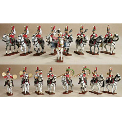Cuirassiers or Dragoons Band
