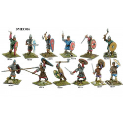 Norman or Saxon warriors 900-1180