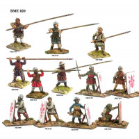 Pavisiers and long spears