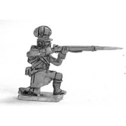 Highlander Center coy. 1813-1815, kneeling, firing