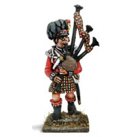 Bagpiper, marching 1813-1815