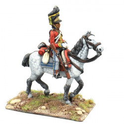 Private, Scots Greys Rgt in full dress, walking, 02