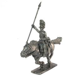 Scots Grey Standard - bearer, charging