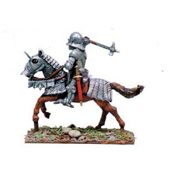 French knight with gotik armour