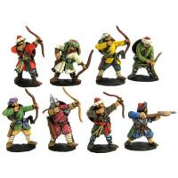 Muslim archers and crossbowman