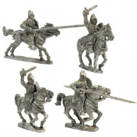 Heavy cavalry charging 1, XII Cent.