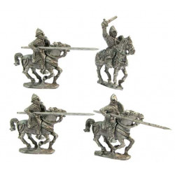 Heavy cavalry charging 2, XII Cent.