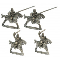 Light cavalry charging. XII Cent.
