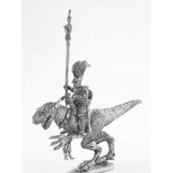 Dark Elf Standard bearer Raptor rider