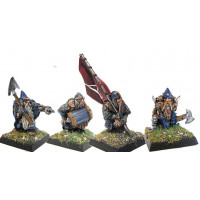 Dwarf double handed axe Command Group