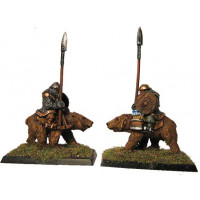 Dwarfes with spear an bears