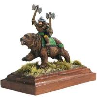 Dwarf on bear Hero