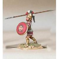 Infantryman, Class I, V-IV century BC, attacking