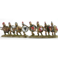 Hoplite, second rank, attacking