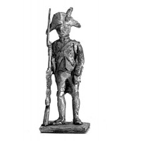 Fusilier, two cornered hat, standing
