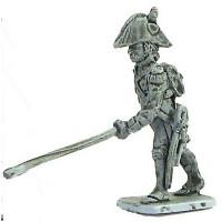 Artilleryman, two cornered hat, 01