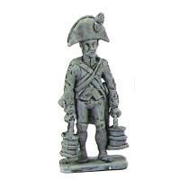 Artilleryman, two cornered hat, 02