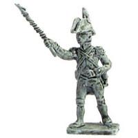 Artilleryman firing the gun