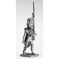 Grenadier, fur hat, marching