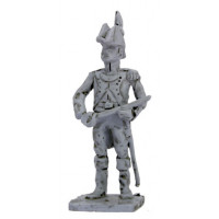Infantry Officer, two cornered hat, standing