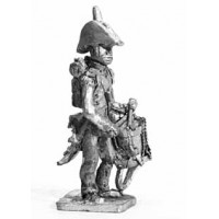 Infantry Drummer, with two cornered hat, standing