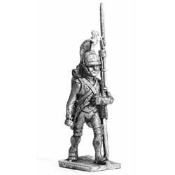 Foot Dragoon, marching
