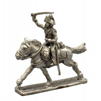 Trooper of the 8th regiment of Cavalry, charging