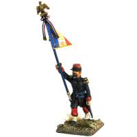 French Officer Standar Bearer, 1854 - 1866