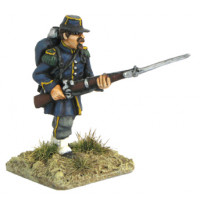 French Chasseur in Attack march