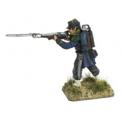 French  Chasseur Firing 1854-1866