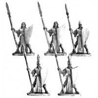 High Elves with spears