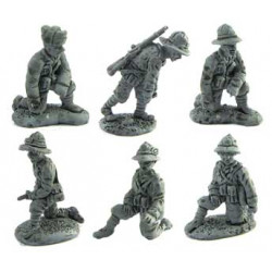 Artillery crew for different cannons
