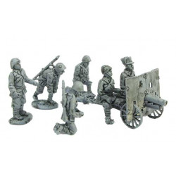 Artillery crew for 65/17 divisional cannon continental