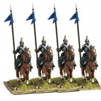 Line Cavalry in campaign dress, walking