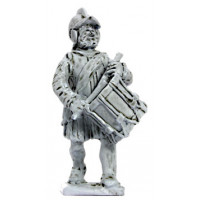 Tuscan drummer, marching, 1550