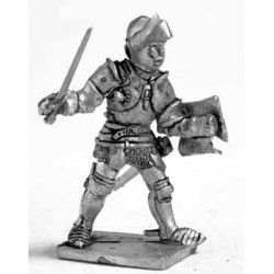 Dismounted knight 1400-1500