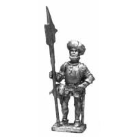 Swiss Infantryman with cap, 1470