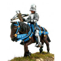 Mounted Crossbowman with sallet