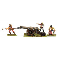 Large Cannon and crew