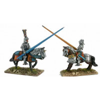 Knights with complete armour