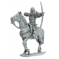 Archer, mounted, aiming, circa 1360